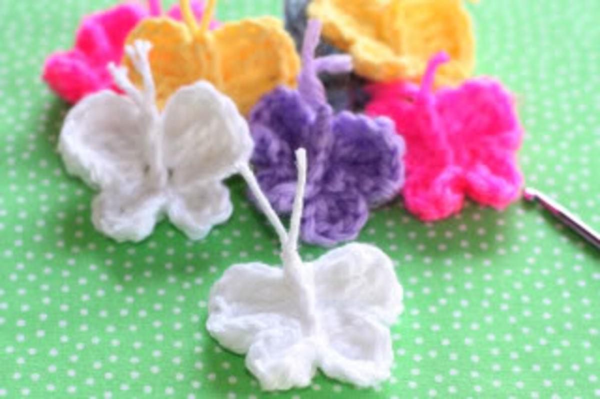 Butterflies Crochet Pattern