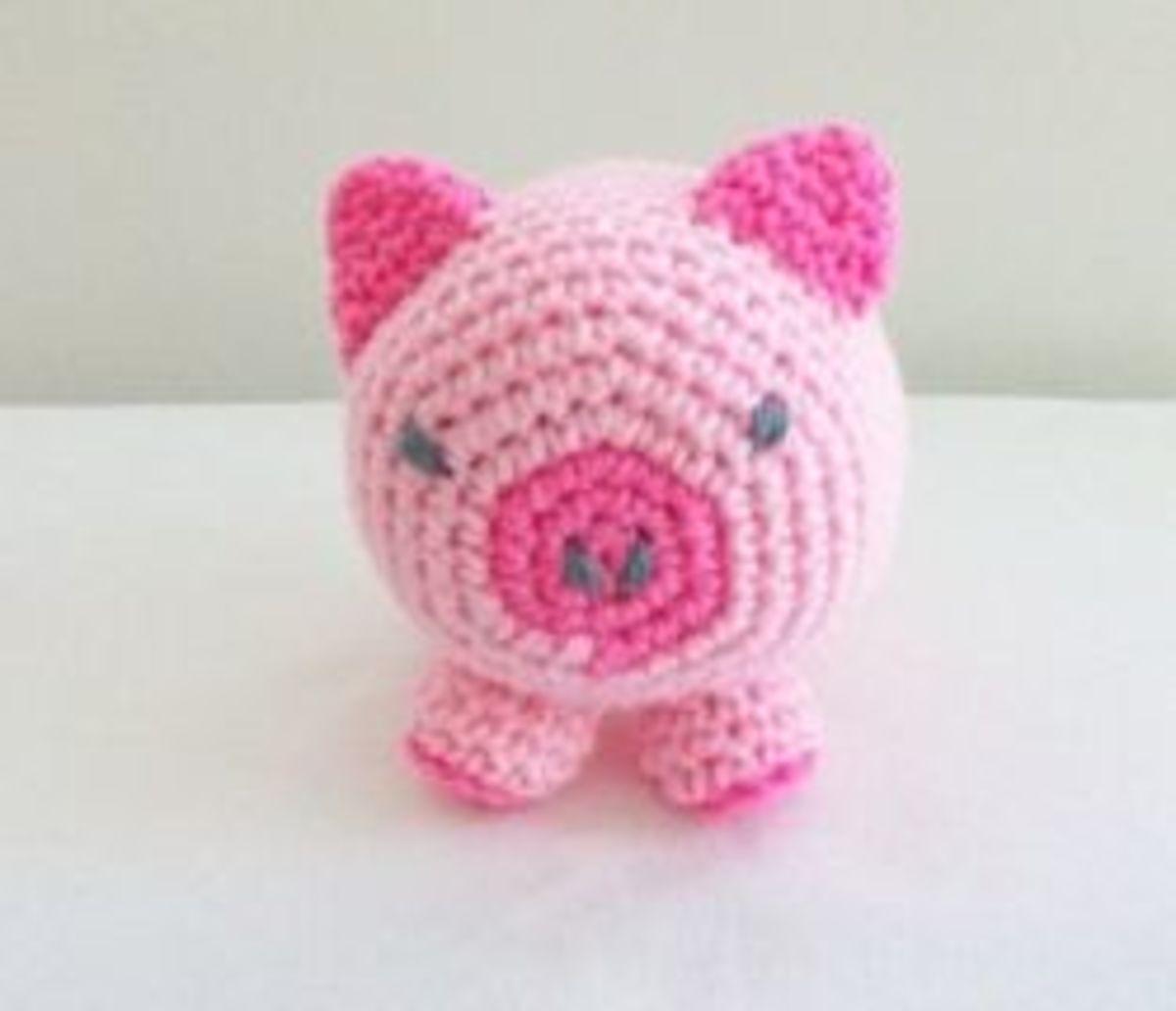 Roly-Poly Plush Piglet