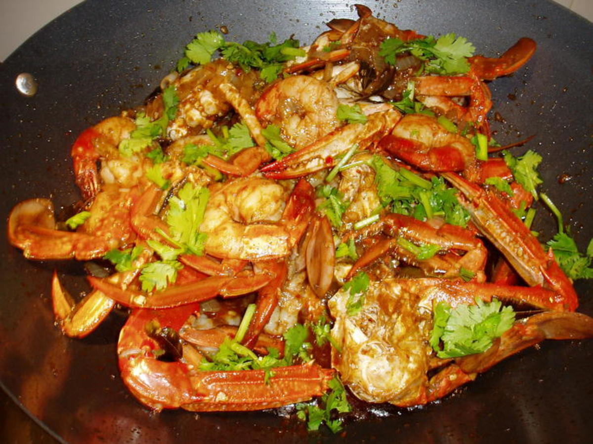 Very tasty and healthy prawns