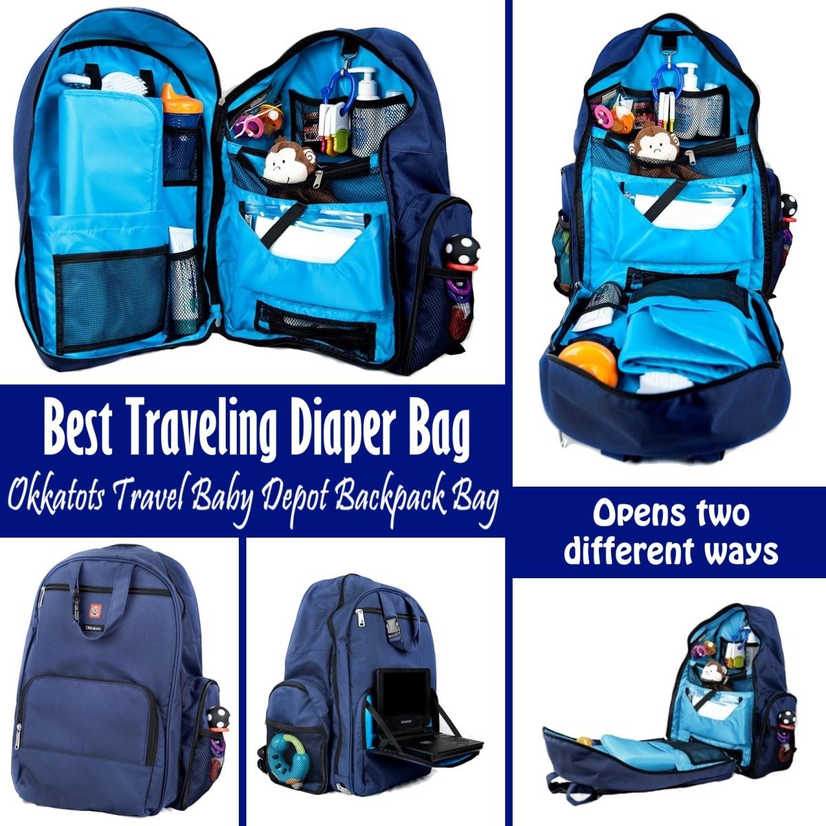 okkatots travel baby depot backpack bag reviews. Black Bedroom Furniture Sets. Home Design Ideas