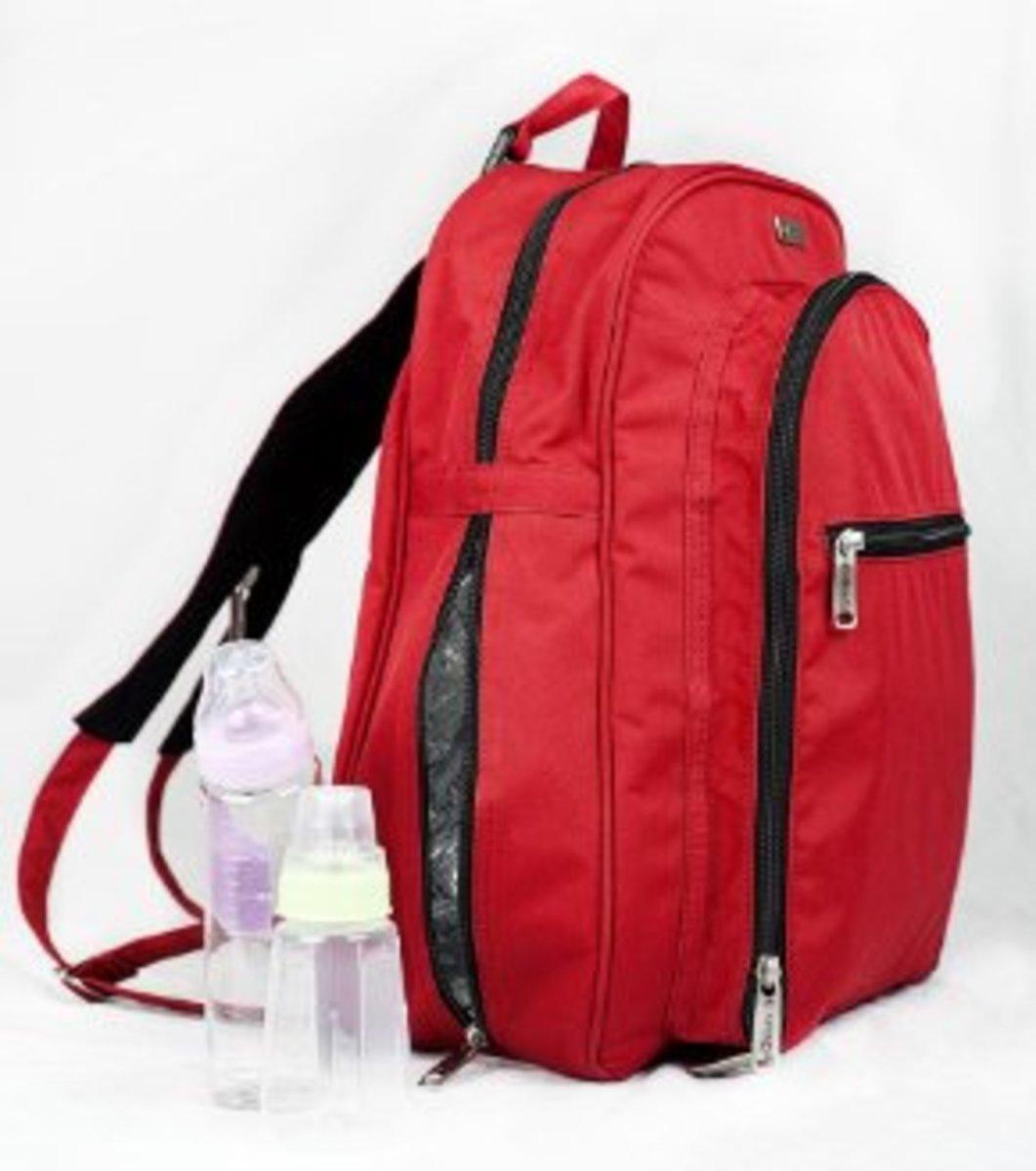 okkatots travel baby depot backpack bag reviews hubpages. Black Bedroom Furniture Sets. Home Design Ideas