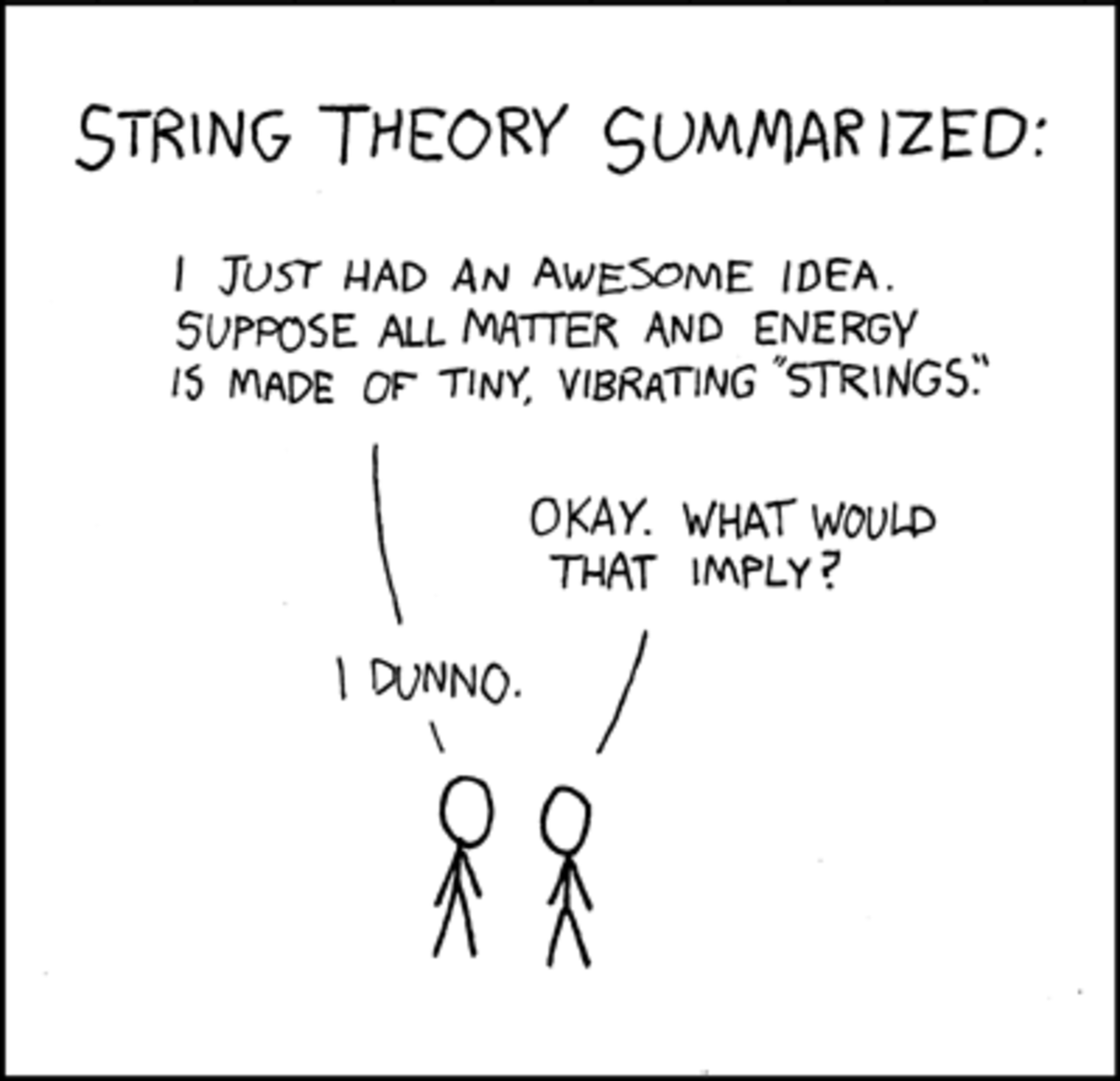 String Theory. Simplified.