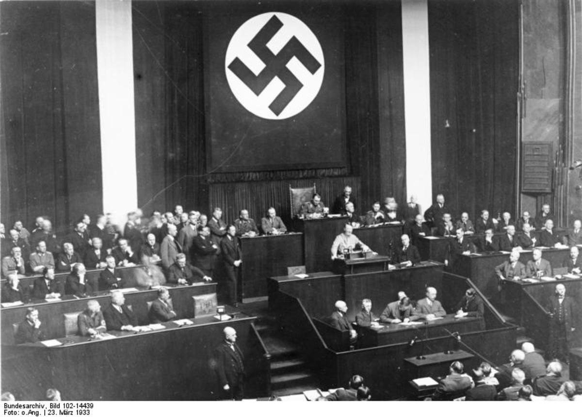 Hitler in government
