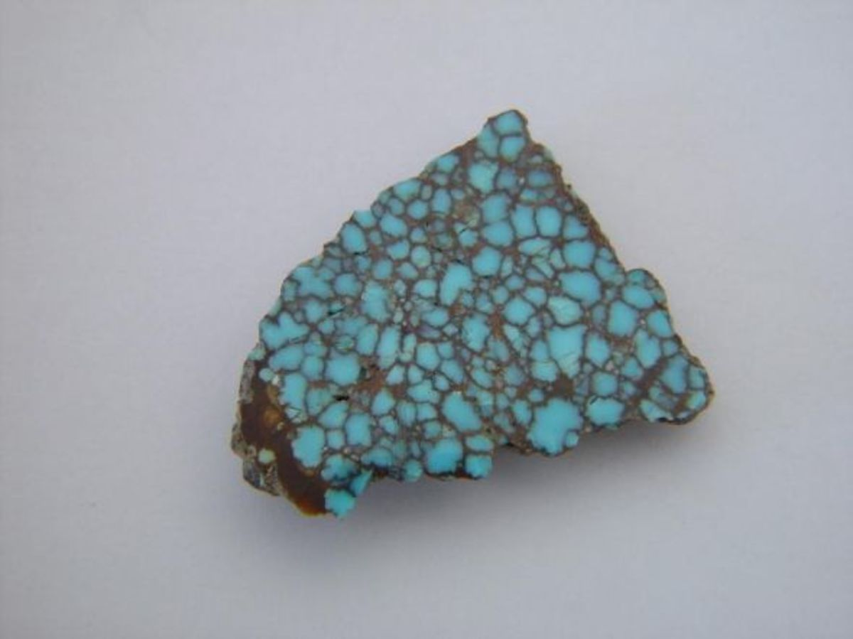 Number 8 Turquoise Rough
