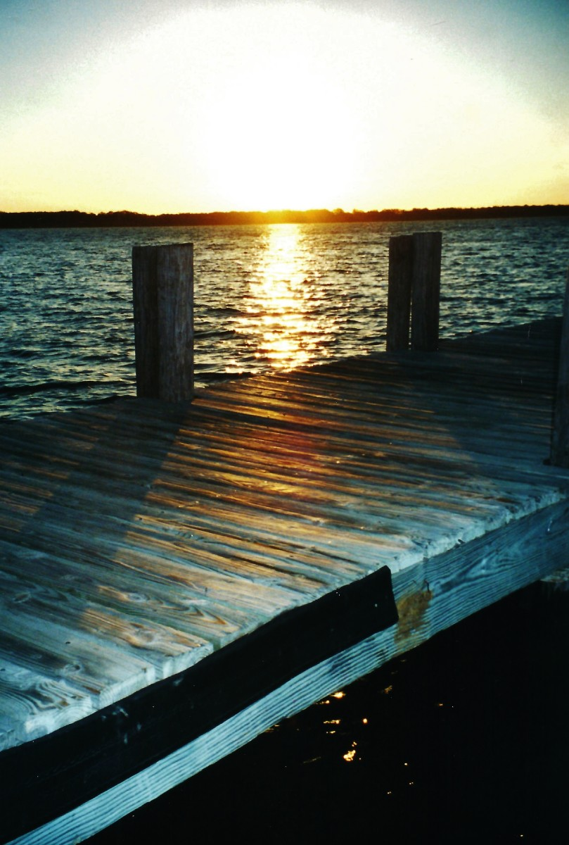 A Lake Murray Resort Park Sunrise