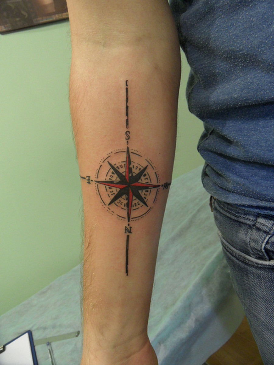 The Coolest Travel Tattoos   Wanderlust Inspired Tats ★