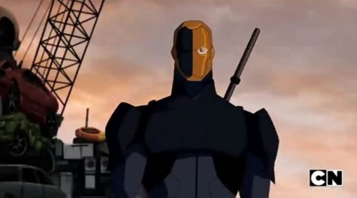Deathstroke-Young Justice Invasion