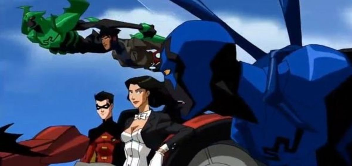 Young Justice Invasion-Intervention
