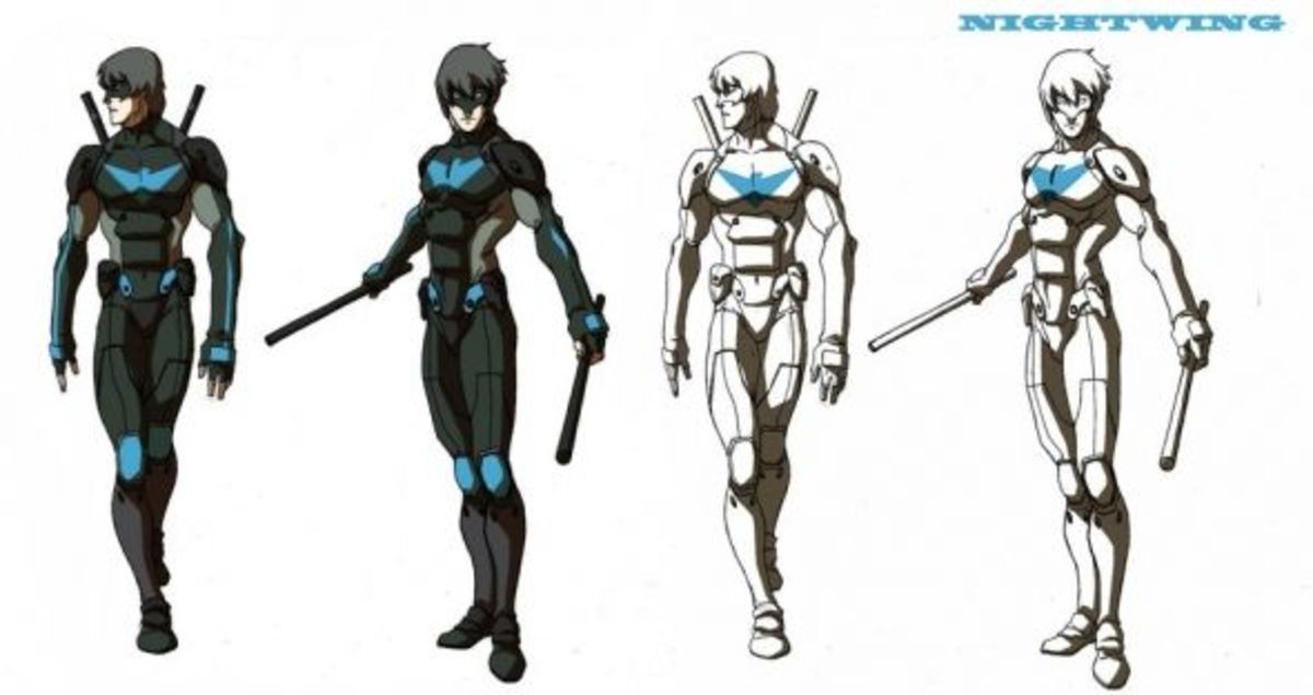 Nightwing-Legend of Korra
