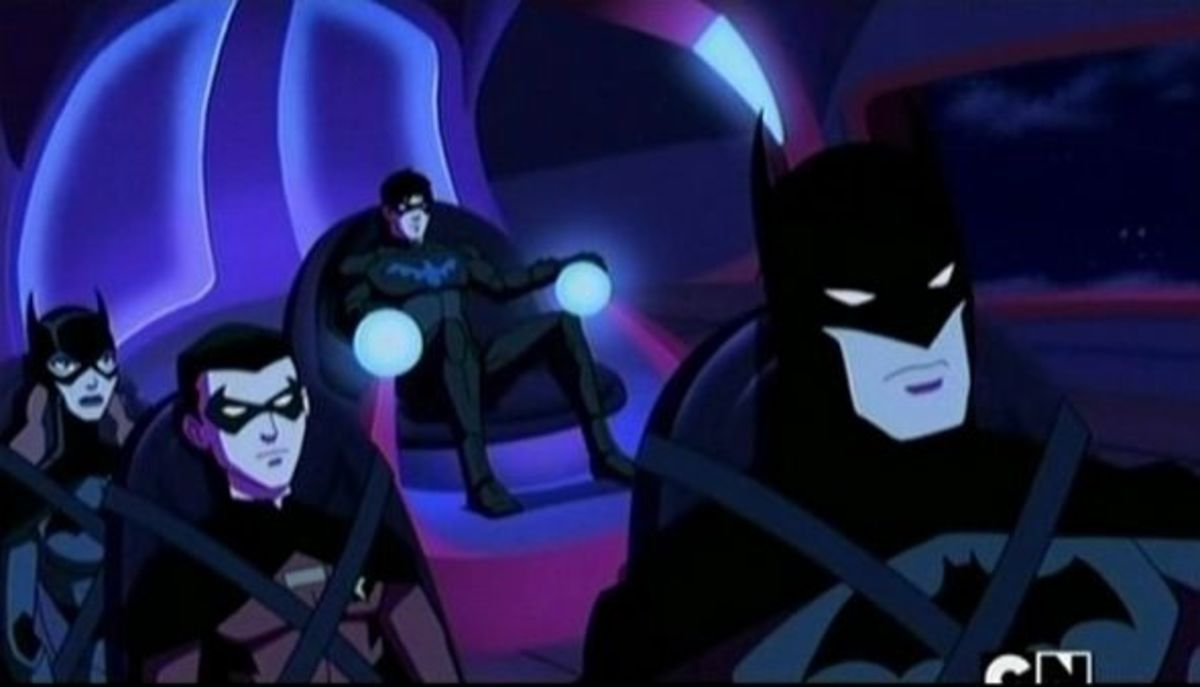 Bat Family-Young Justice Invasion