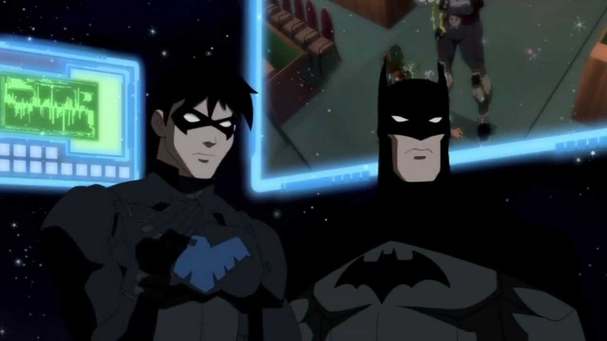 Nightwing - Batman - Young Justice Invasion