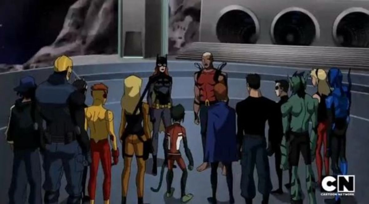 Young Justice-Endgame