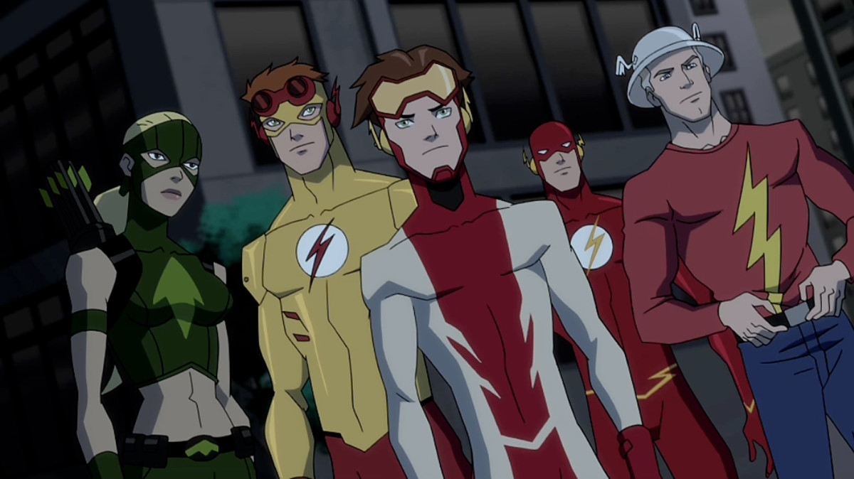 Artemis and the Flashes - Young Justice Invasion