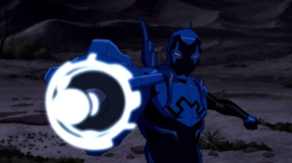 Blue Beetle-Young Justice Invasion