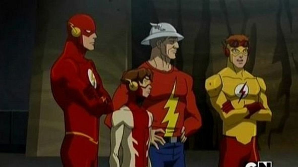 Young Justice-Flash-Impulse-Flash-Kid Flash