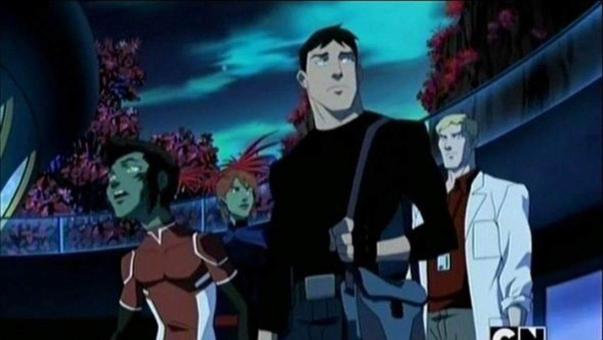 Young Justice Superboy And Miss Martian Get Back Together Young Justice Invasion