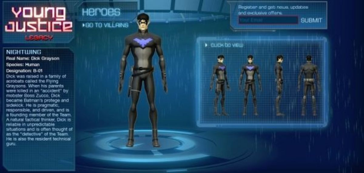 Nightwing-Young Justice Legacy