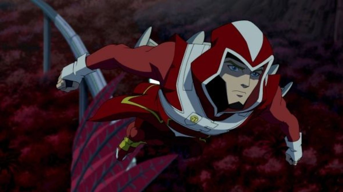 Adam Strange - Young Justice Invasion