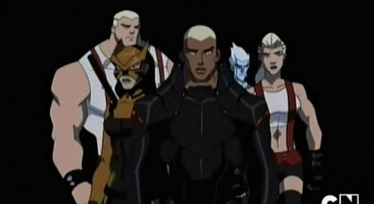 Young Justice Invasion-Darkest