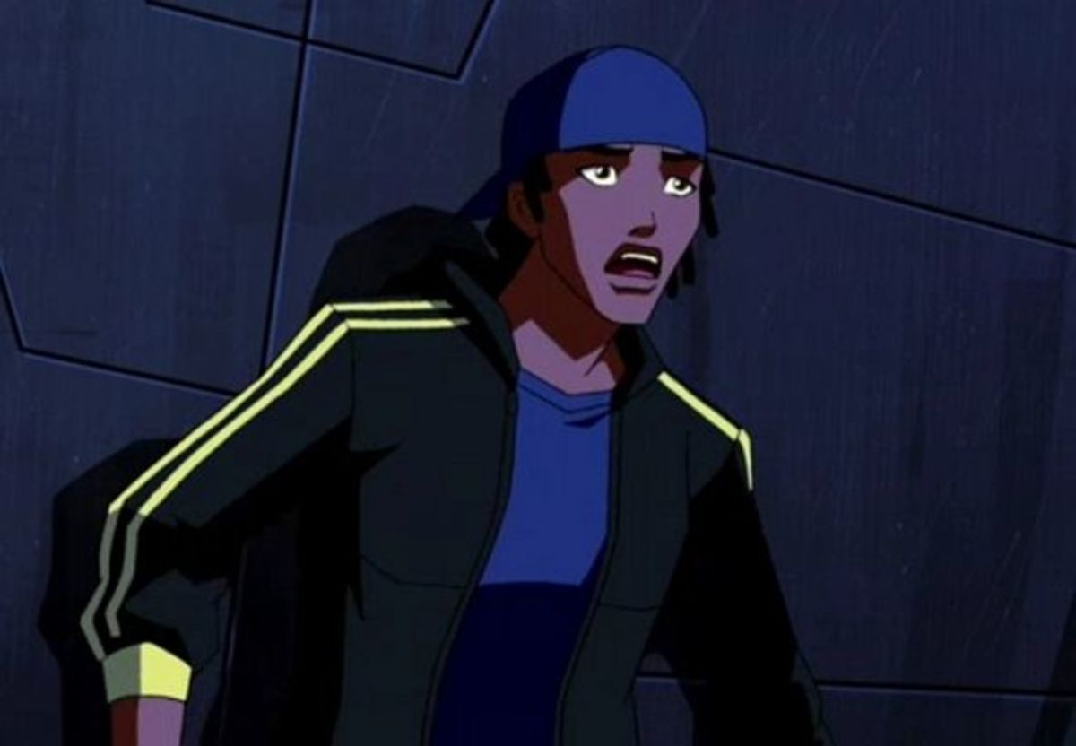 Static Shock-Young Justice Invasion