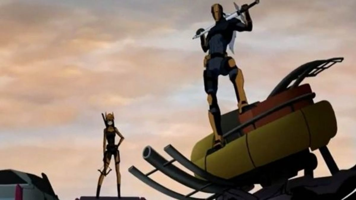 Young Justice Invasion-Deathstroke