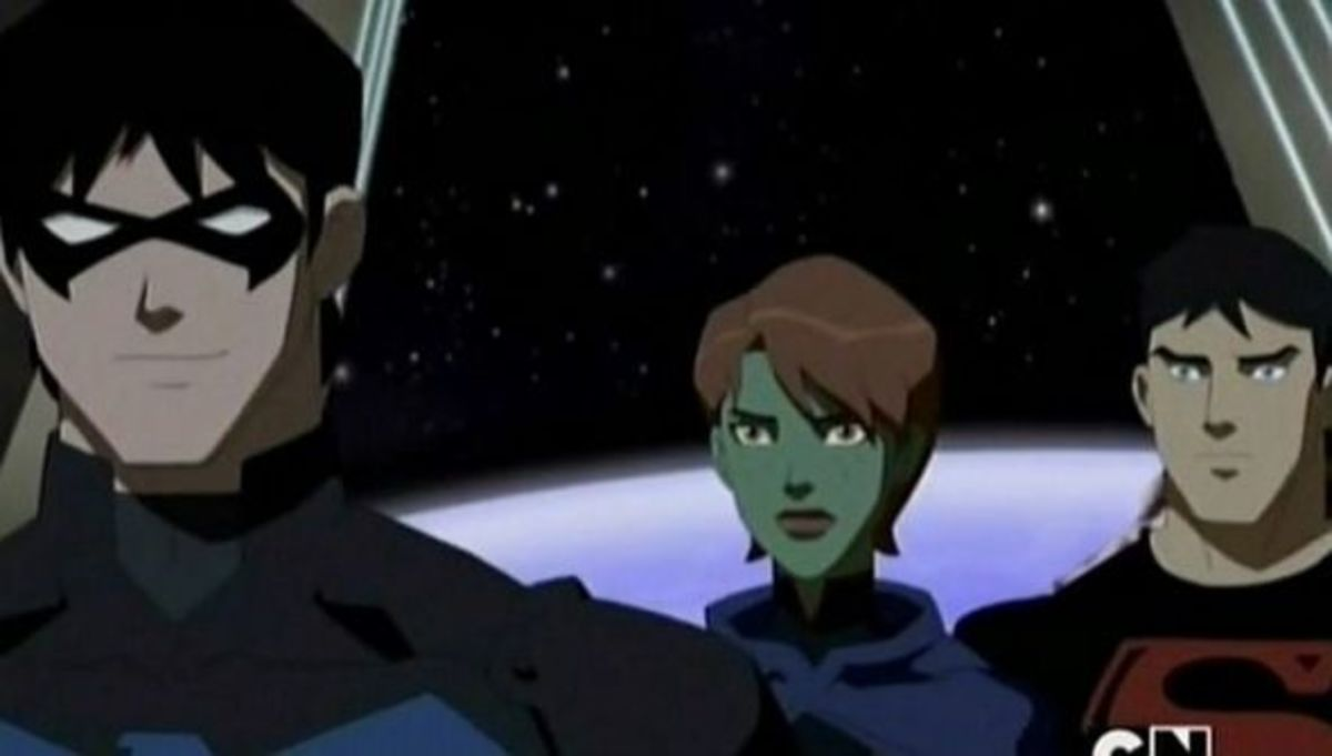 Nightwing - Miss Martian - Superboy