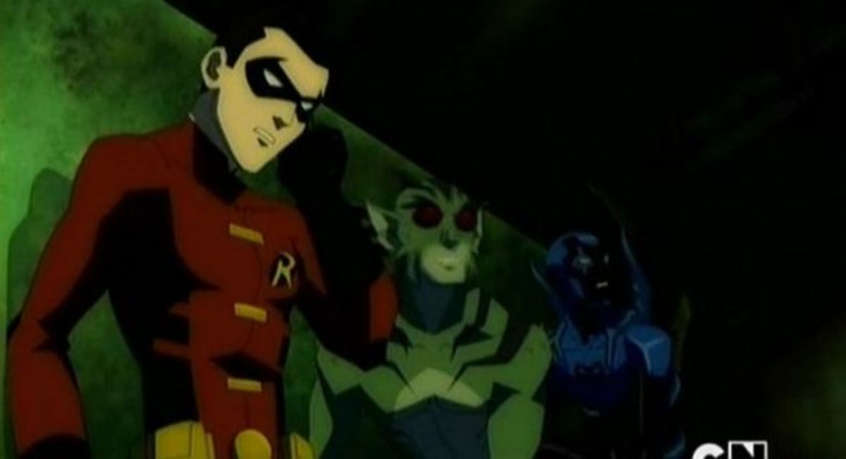 Robin - Lagoon Boy - Blue Beetle