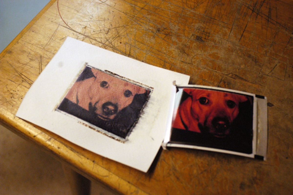 How to do Polaroid Transfers
