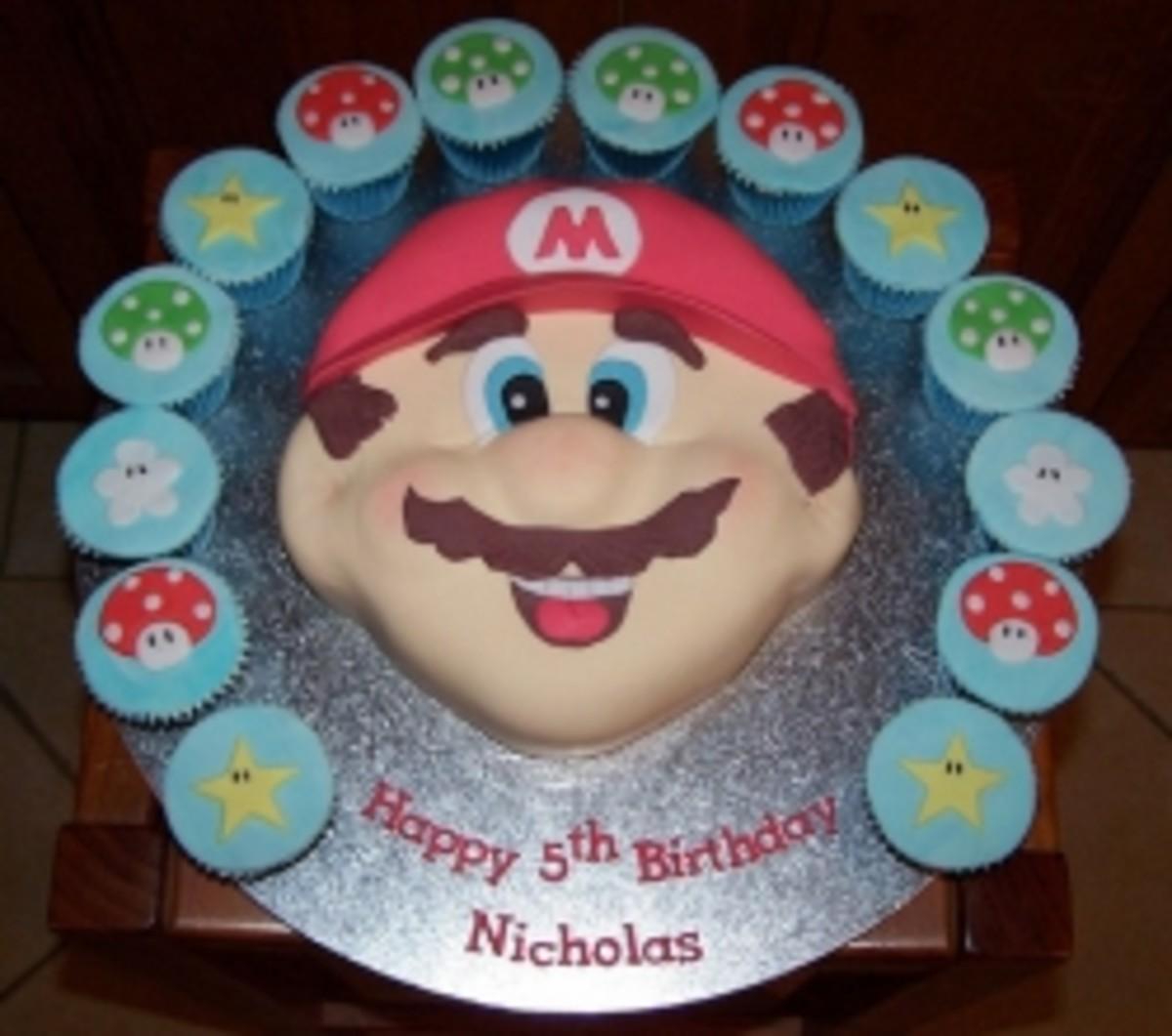 Mario Birthday Party Theme Ideas!