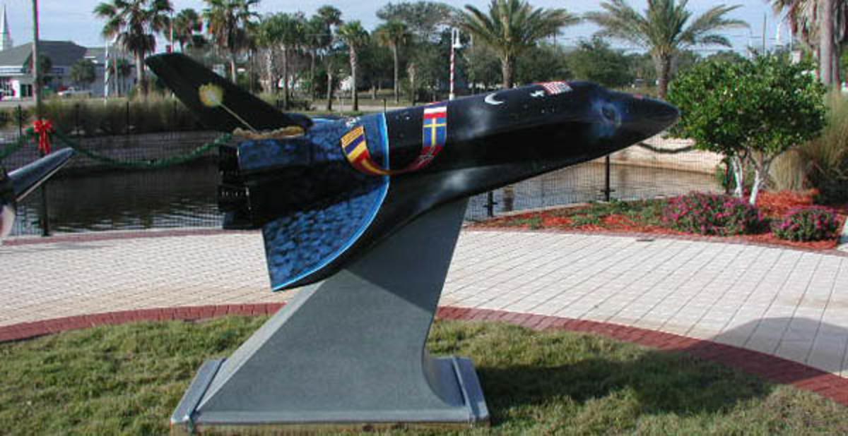 Shuttle monument