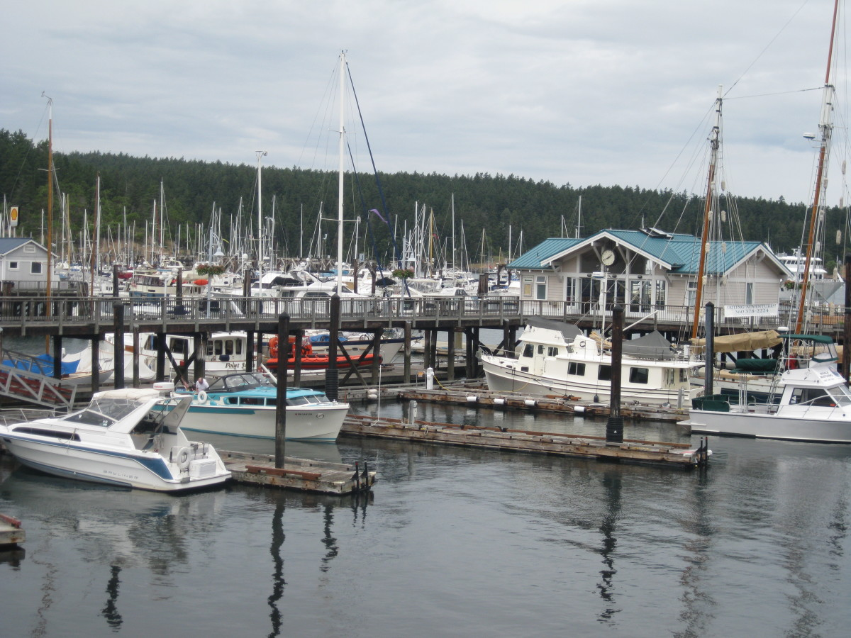 Friday Harbor, San Juan WA