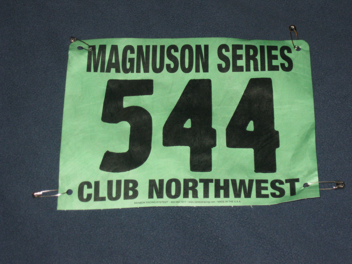 Magnuson 5K Race 3/24/2012 Time 23:34
