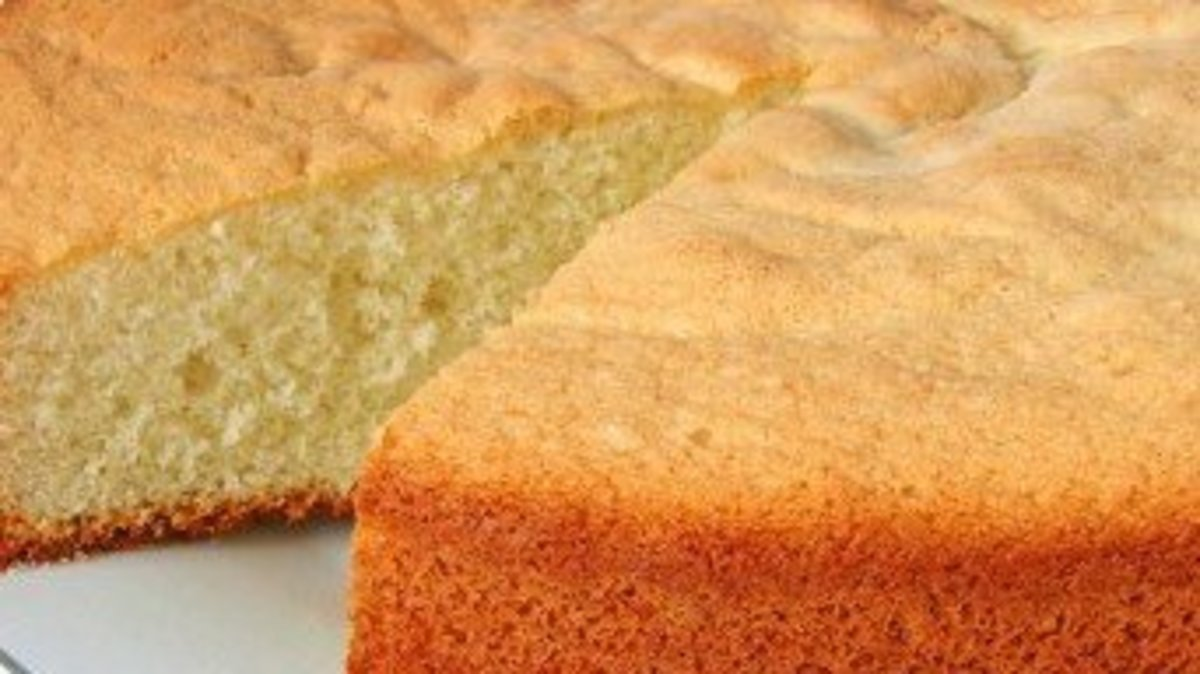 Easy Canola Oil Cake