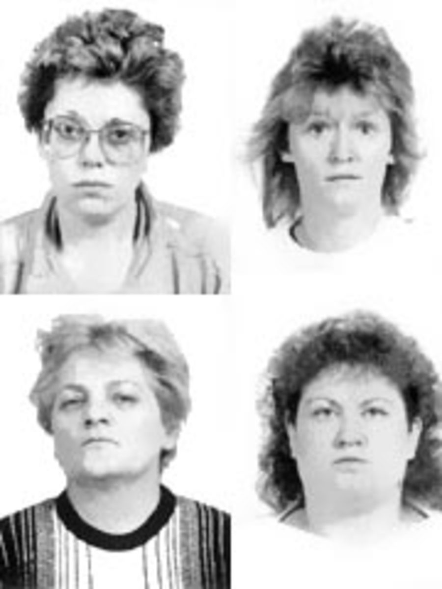 Elderly patients in hospital were drowned in bed by this caring quartet of Austrian nurses.