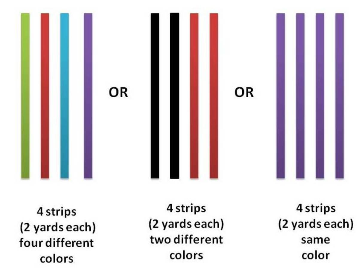 Grosgrain ribbons color mix options.