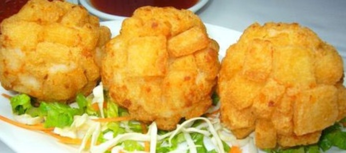 Crispy Shrimp Ball - Delicious Dim Sum