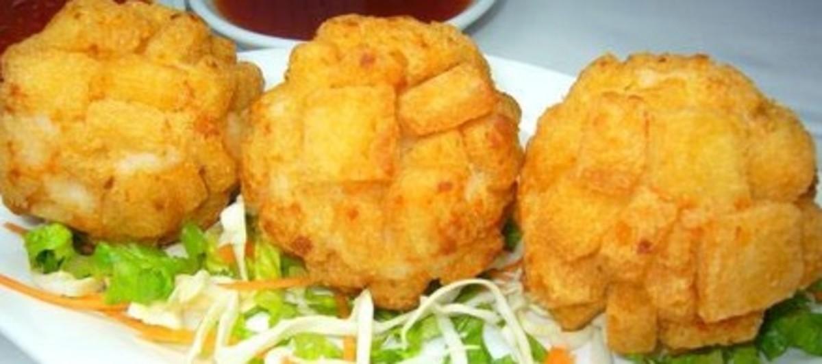 Crispy Shrimp Ball - Delicious Dim Sum
