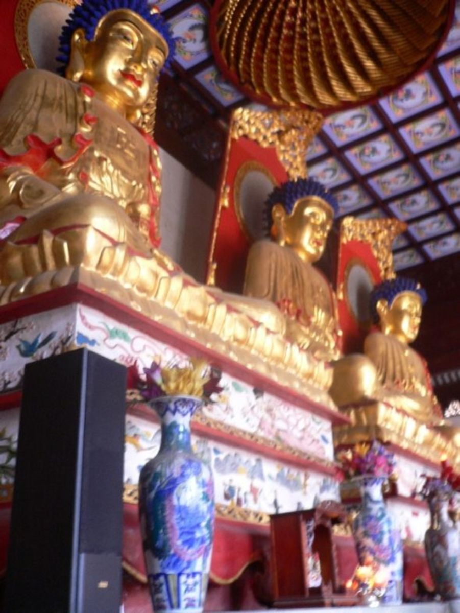 Three Buddhas - Chongming Island Shanghai