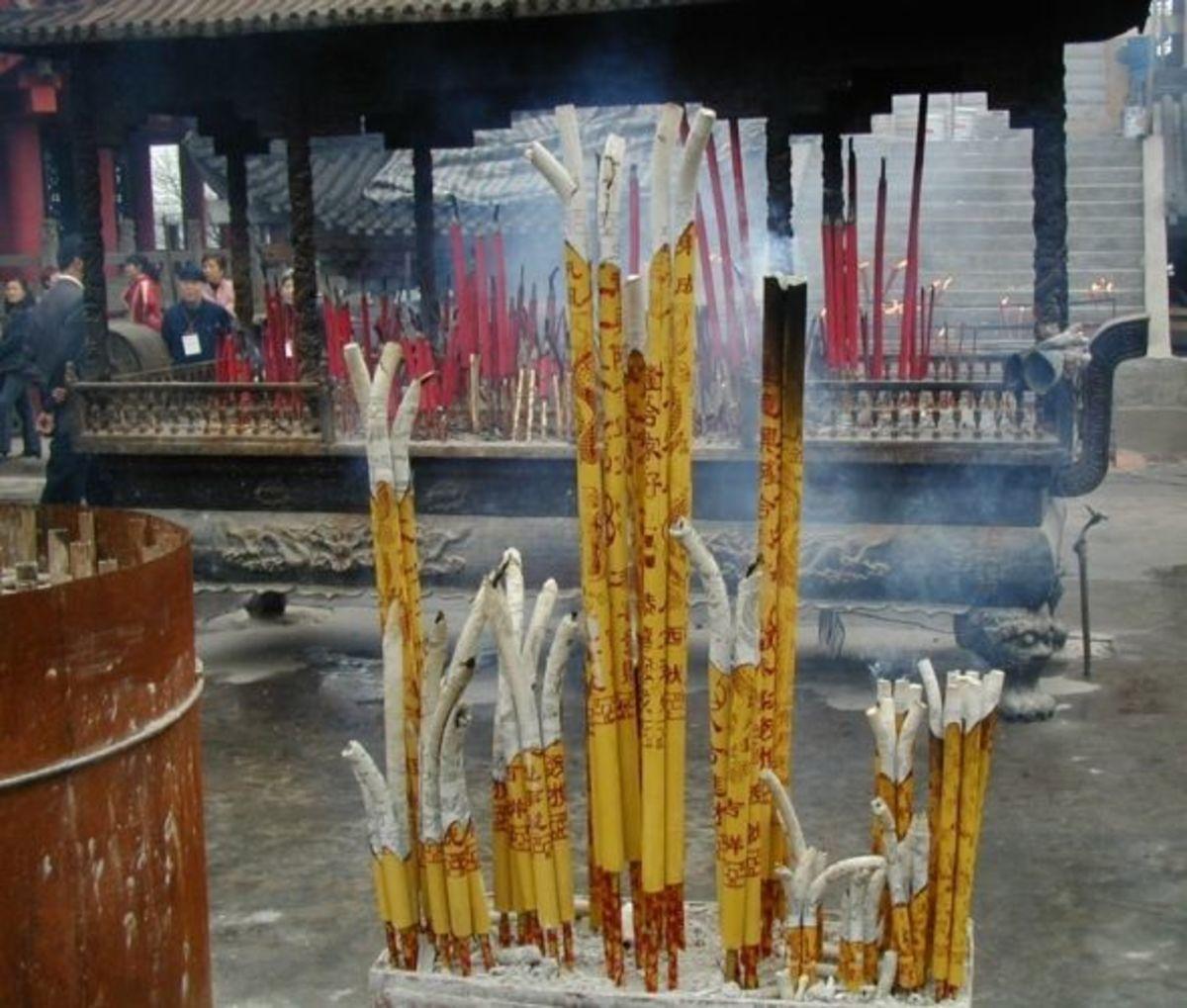 incense burners Ciqikou, Chong Qing
