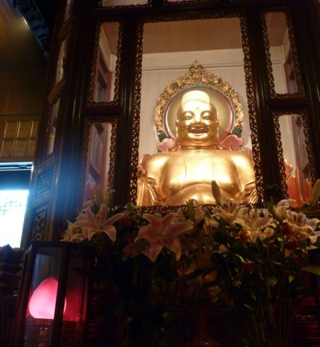 Jade Buddha Temple Shanghai Buddha of the Future