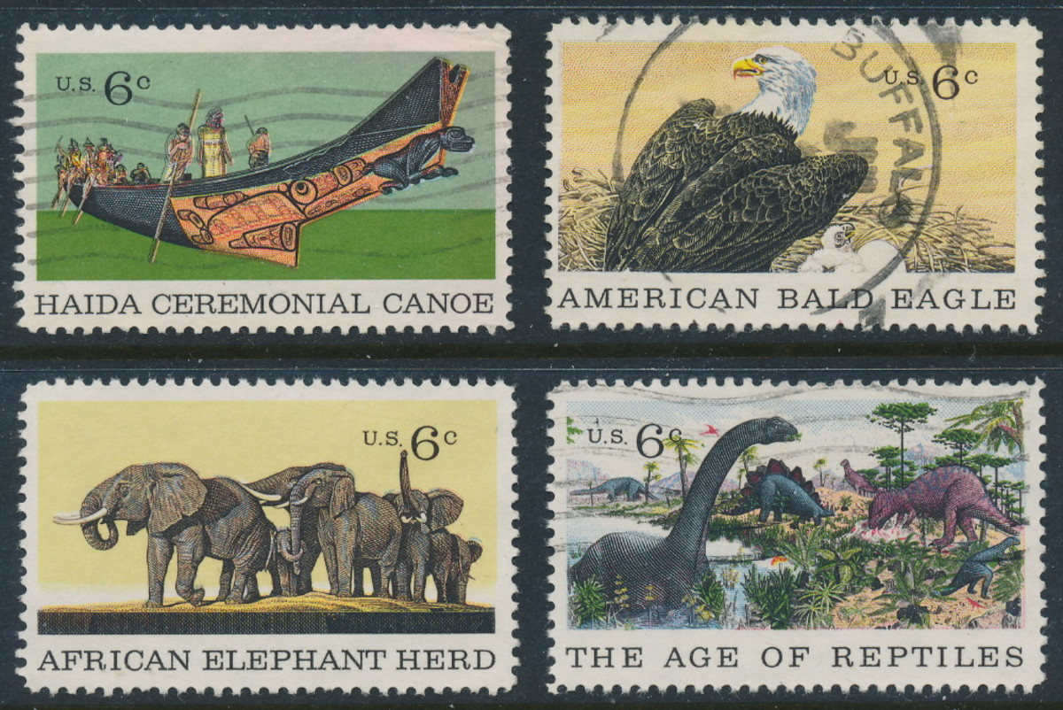 US Stamps from 1970