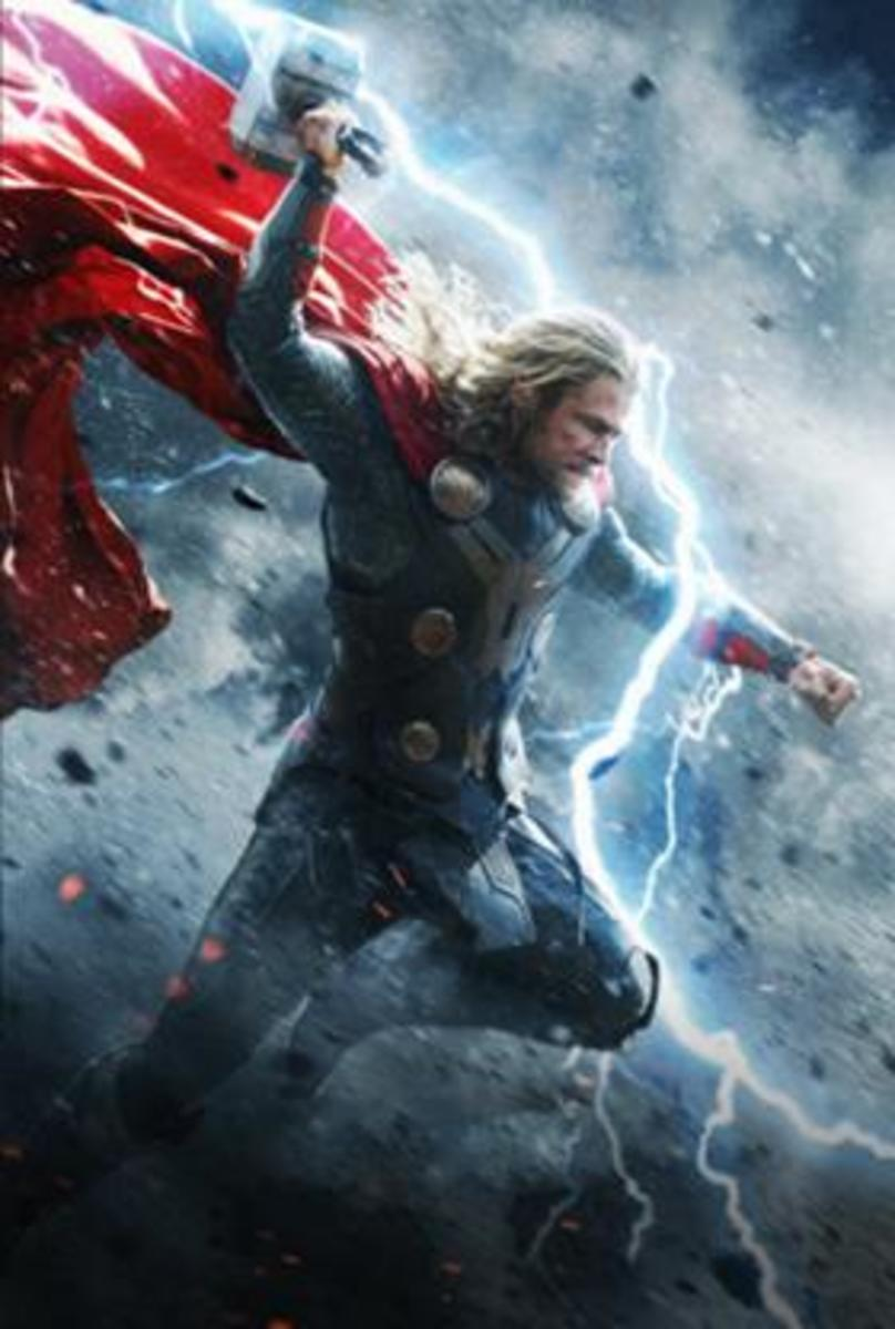 Enhanced by the power of the Odinforce, Thor & Mjolnir are formidable