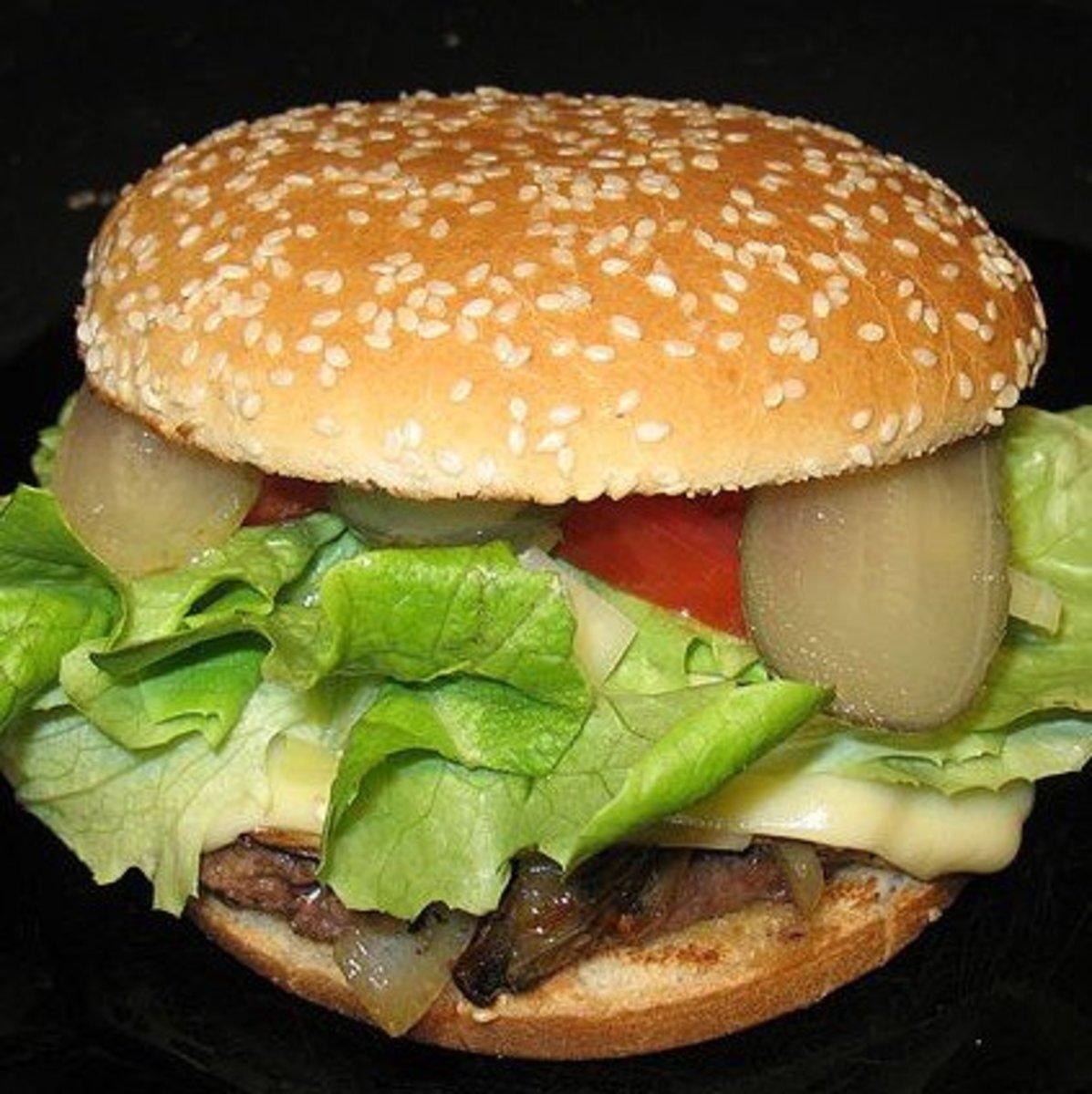 How to Pan Fry a Burger