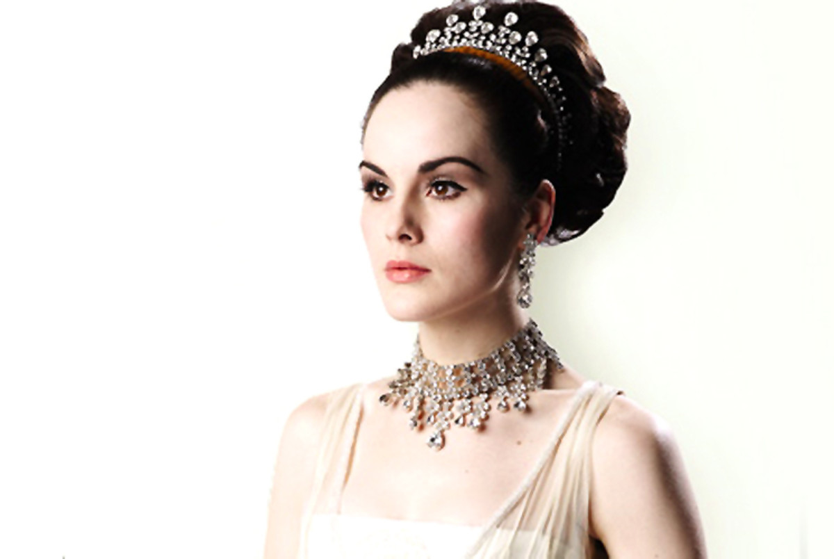 Michelle Dockery, white skin celebrity