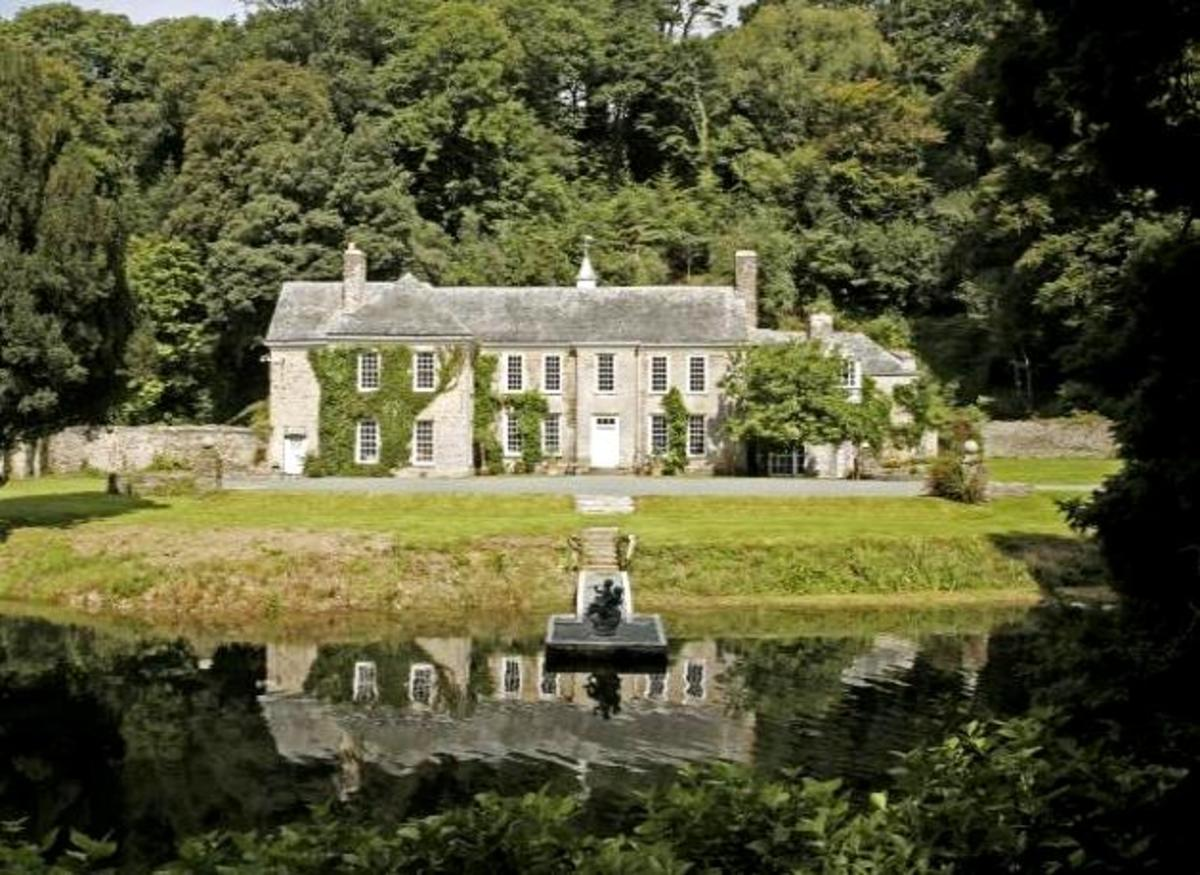 Grace's home was actually Wetherham Manor in St Tudy, Cornwall.