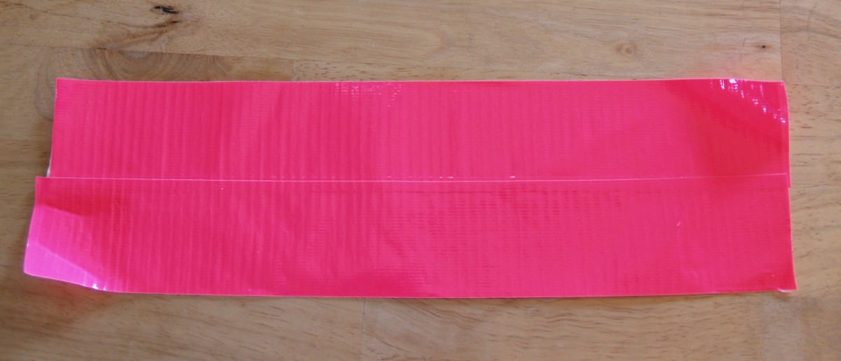 Repeat the previous step with the fourth strip of Duck® Tape.