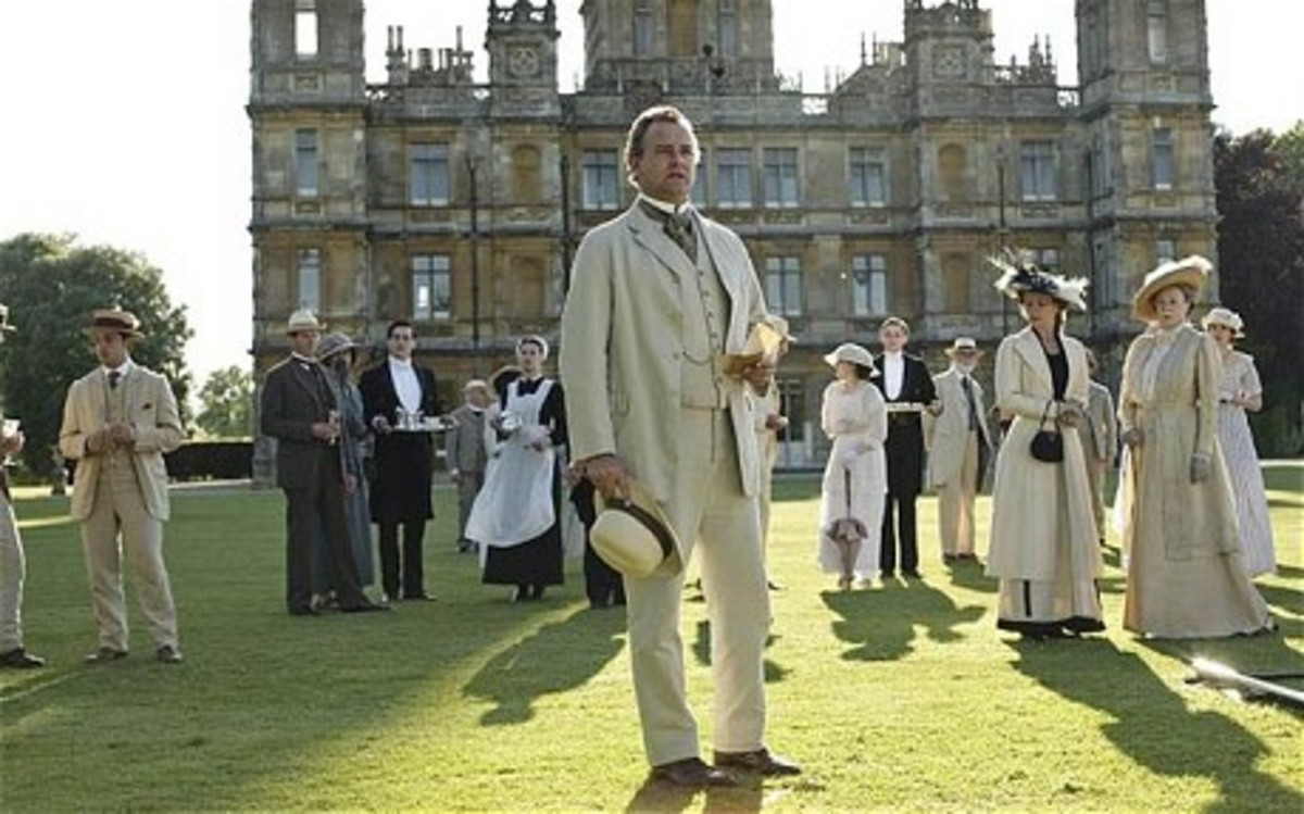 Hugh Bonneville heads up the cast of Downton Abbey