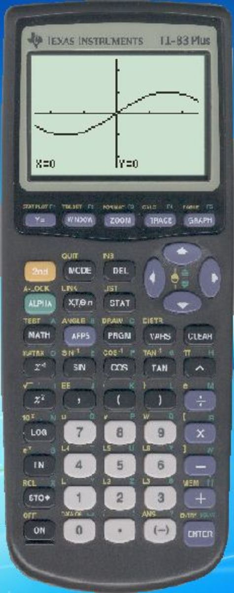 A TI-83 Plus emulator running in Windows 7.  Using an emulator for your TI-83+ lets you take your trusty graphing calculator with you on your laptop, tablet or smartphone.
