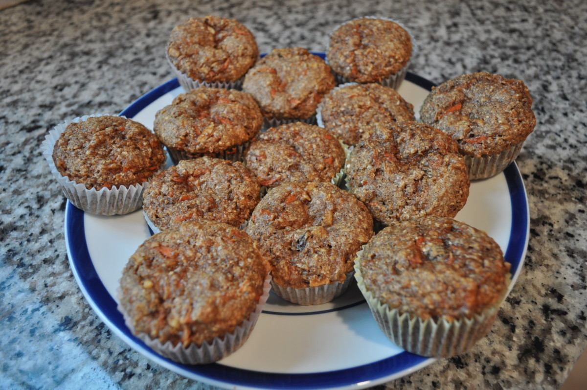 Organic Bran Flaxseed Meal Muffins: Bob's Red Mill Amazing Recipe