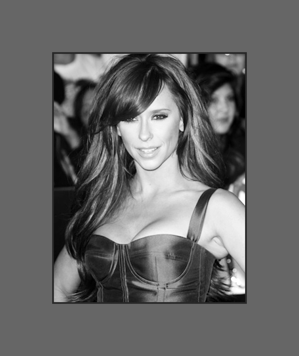 Jennifer Love Hewitt wears the very versatile and sultry long side-swept bangs.  The bangs are long enough so she can still pull up her hair.  Great bangs for heart shaped faces - 2013 Hairstyles with Bangs for Round, Oval, Square, Heart, Oblong Face